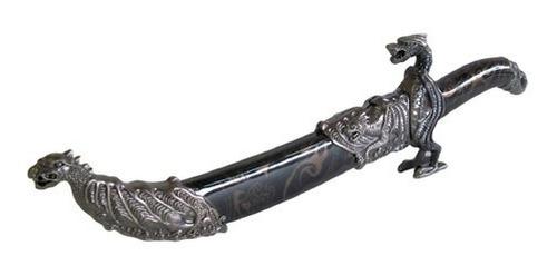 espada punhal adaga dragão 45cm enfeite decoração