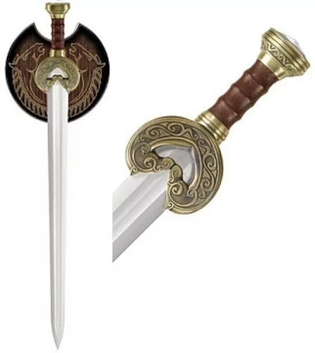 espada rei theoden senhor dos aneis herugrin o hobbit