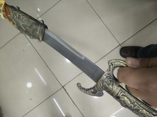 espada sable cultura china dos modelos manija manopla y norm