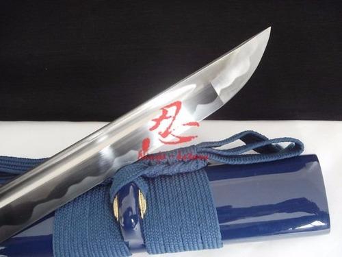 espada samurai katana com corte autêntica original afiada
