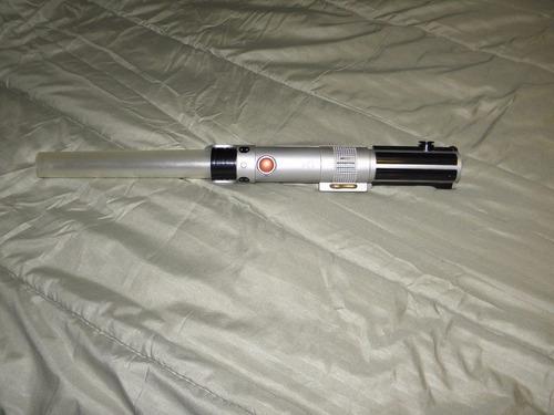 espada star wars sable laser de luz electrónica