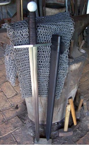 espada templaria - artesanal