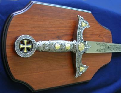 espada templaria medieval las cruzadas mide 119.5cm au1