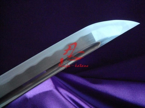espada wakizashi samurai afiada corte aço aisi 1075