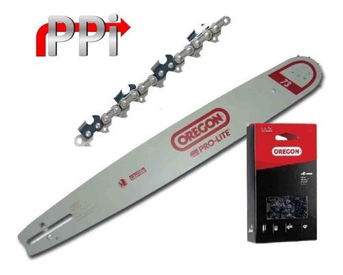 espada y cadena motosierra husqvarna 61 oregon 18'' - 45 cm