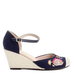 f63583961e Espadrille Anabela Com Fita Moleca - Sapatos no Mercado Livre Brasil