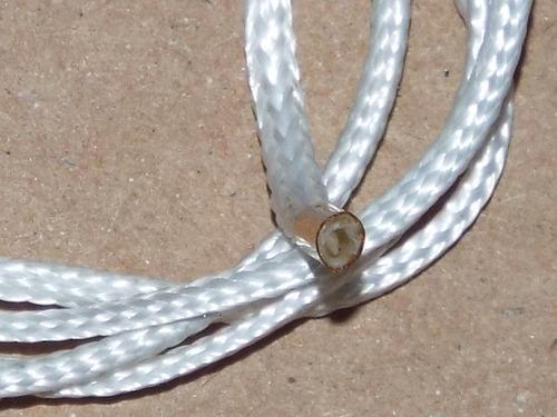 espaguete de fibra de vidro 1mm - reprap - impressora 3d