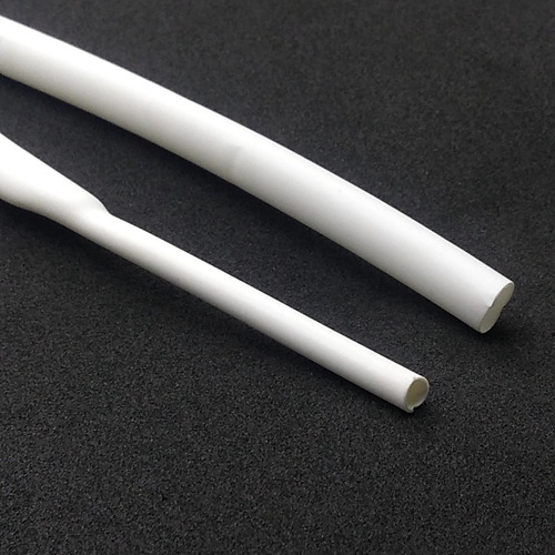 espaguete isolante termo retrátil 2 cores 4mm kit 5 metros