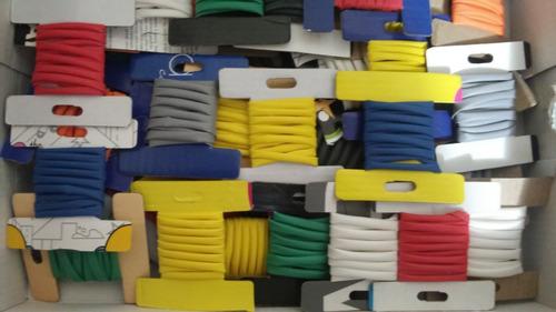 espaguete termo retratil várias cores e medidas ( kit top1)