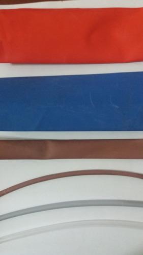 espaguete tubo isolante termo retrátil 25mm 10m marrom