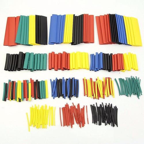 espaguete tubo isolante termo retrátil 328 peças 8 tamanhos