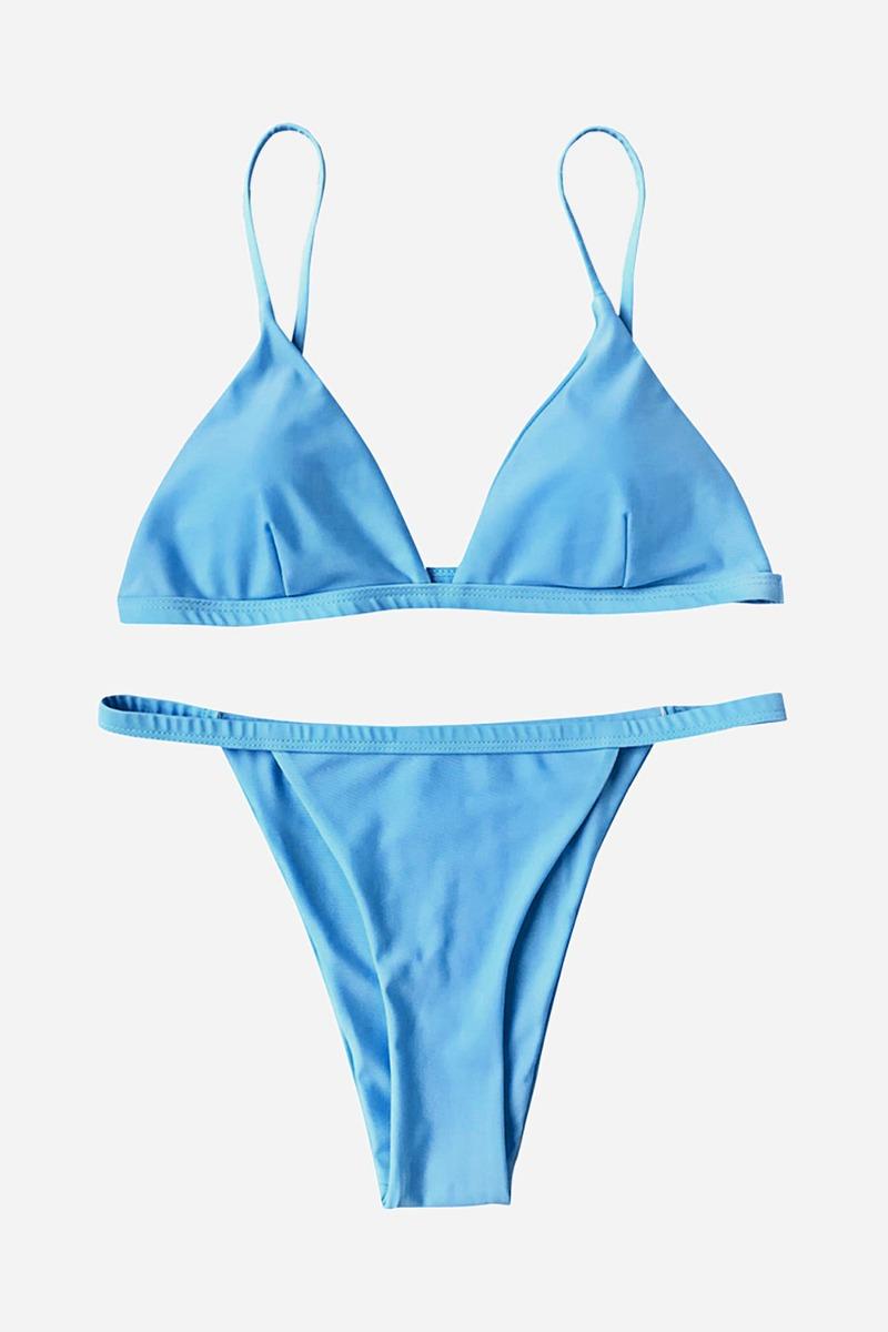 e411f278fabf Espaguetis Correa Bajo Talle Bikini Del Traje De Baño