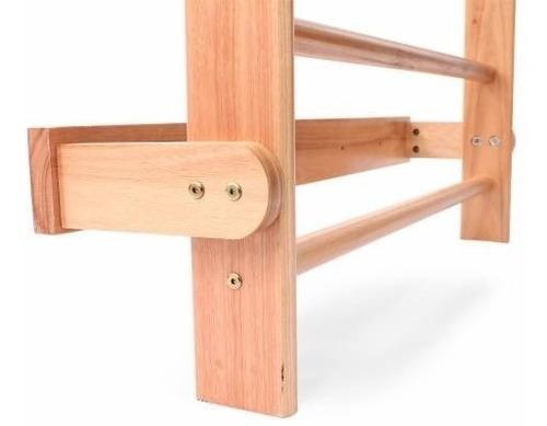 espaldar de madeira
