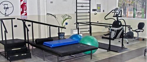 espaldar sueco con techo para rehabilitacion kinesiologia