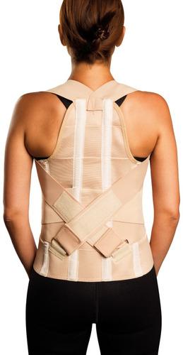 espaldera alta c faja corrector espalda lumbar cervical dema
