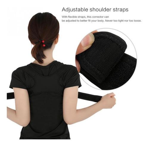 espaldera unisex ajustable para corrección de postura