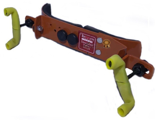espaleira viola arco lunnon premium 41,5 a 42 marrom