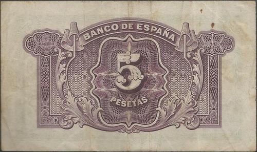 españa 5 pesetas 1935 p85a