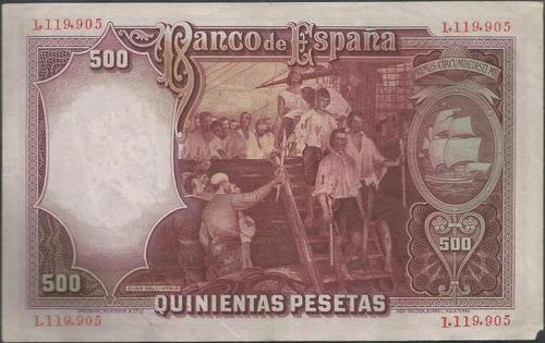 españa 500 pesetas 25 abr 1931 p84