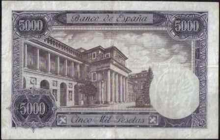 españa 5.000 pesetas 6 feb 1976 p155