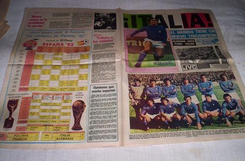 españa 82 suplemento deportivo.el diario deportes.