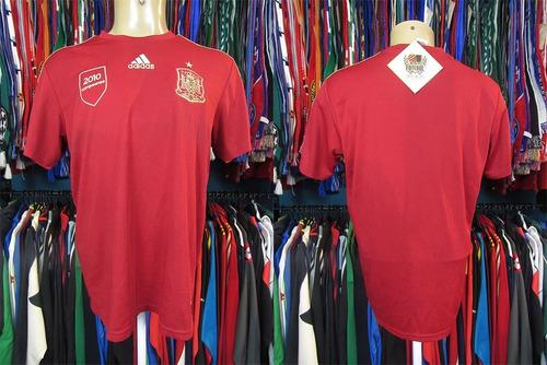 espanha 2010 camisa comemorativa tamanho g.