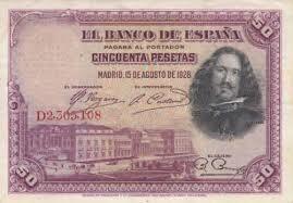 espanha - 50 pesetas - 1.928.