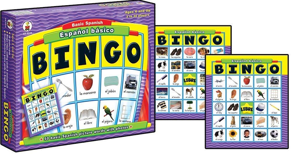 Espanol Basico Espanol Basico Juego Mesa Bingo 559 00 En