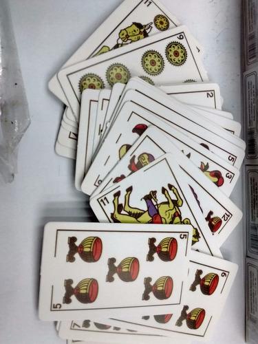 españoles cartas naipes