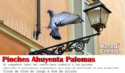 espanta palomas púas, pinches 50cm ,pinchos metal, pájaros