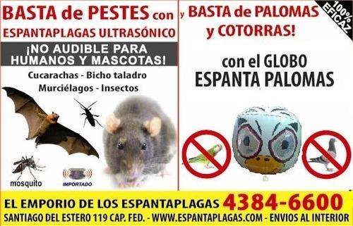 espanta palomas y cotorras - globo terror eyes original