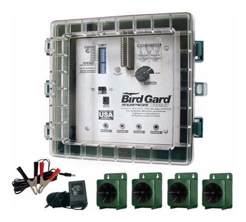espantapajaros electronico bird gard u s a - cubre 24.000.m2