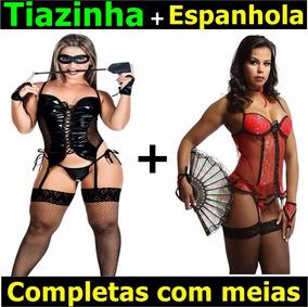 566ca5e20 Espartilho Cristine Meia E Luva Vendidos Separadamente no Mercado Livre  Brasil
