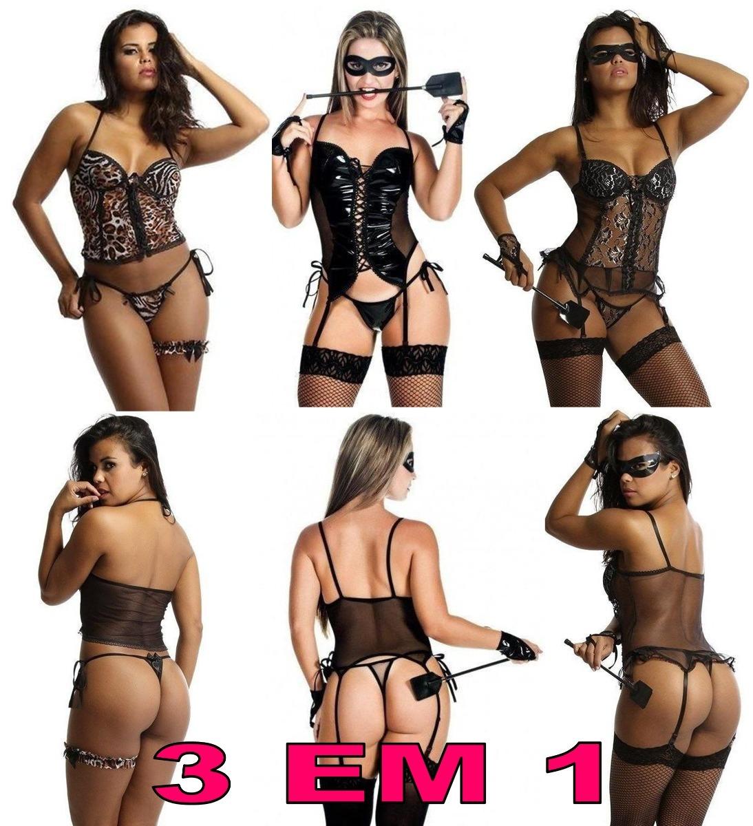 834e3235a espartillho erotico atacado kit com 3 fantasias eroticas. Carregando zoom.