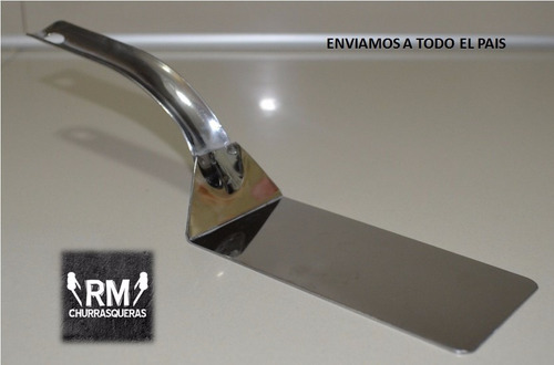 espátula  acero inoxidable 7 x14 - cocineros argentinos