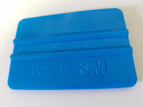 espátula azul 3m instalação película + estilete de aço