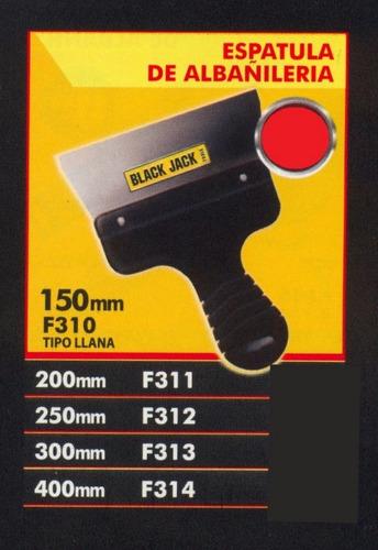 espatula de albañileria 300mm black jack f313 *