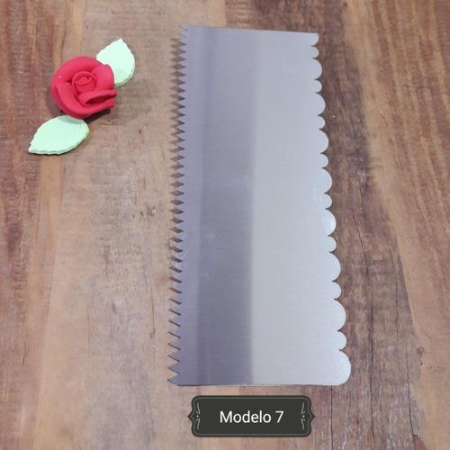espátula decorativa - modelo 07