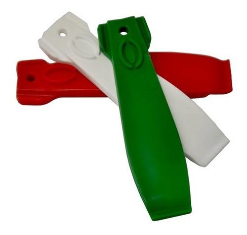 espátula p/ pneus - vittoria italian flag, 3 peças