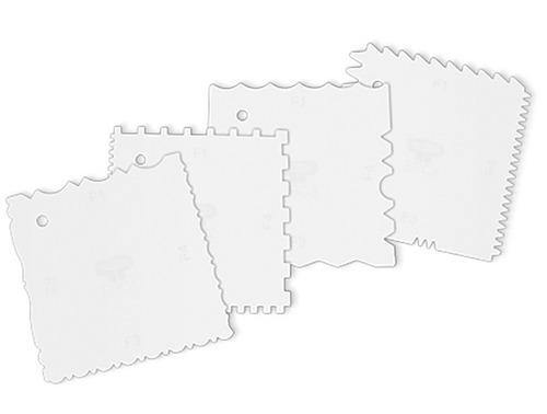 espatula pastelera x4 u. parpen 16 texturas