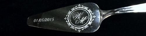 espatula personalizada em aço inoxidável