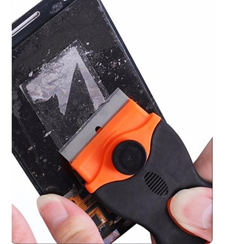 espatula removedor gel uv pantalla iphone samsung motorola