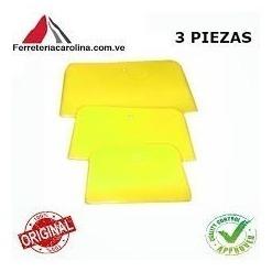 espatulas amarillas para masilla