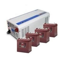 especial de baterias libres de mantenimiento, inversores