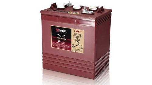 especial de baterias trojan roja t-105