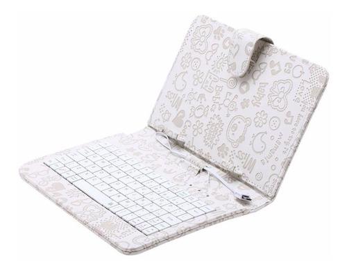 especial de forro  cover protector con teclado para tablets