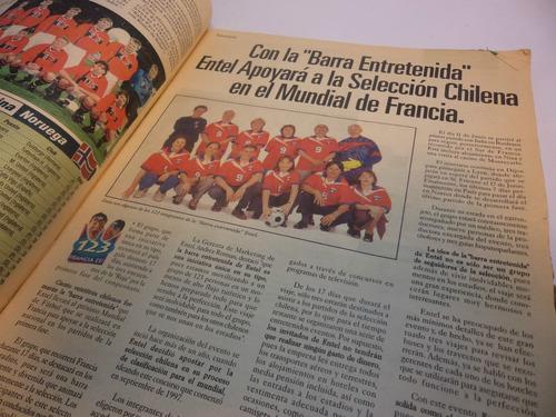 especial deportes mundial futbol francia 98