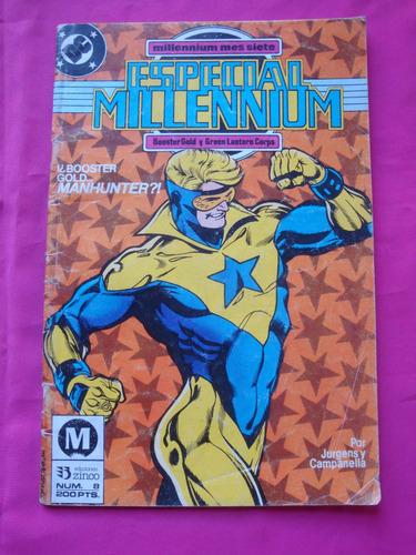 especial millennium n° 8 booster gold y green lantern zinco