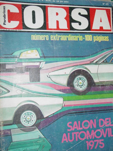 especial salon del automovil 1975 revista corsa 472