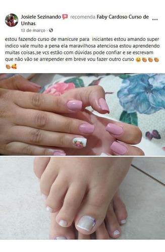 especialização para manicure e pedicure